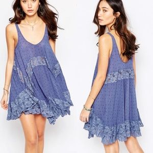 Free people she swings lace dress